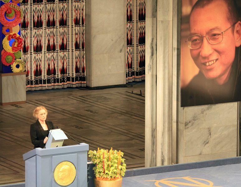 Liu Xiaobo - Nobelpremia Ceremonio